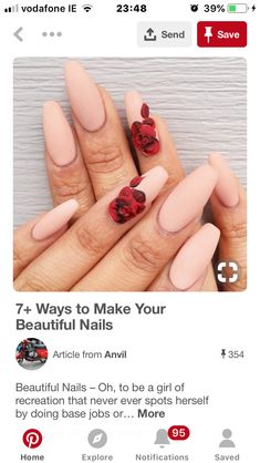 Makes You Beautiful, Make It Yourself, Nails, How To Make, Beauty, Finger Nails, Ongles, Cosmetology, Nail