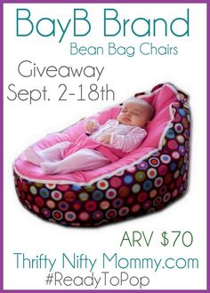 Enter To WIN A BayB Brand Bean Bag Chair Thanks Thrifty Nifty Mommy