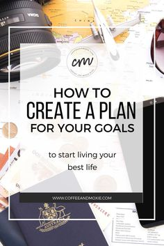 This detailed step-by-step tutorial is a great resource for turning your big goals into smaller more manageable ones so you can increase your productivity and make noticeable progress!