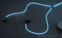耳機從未試過這麼型! 史上首創發光耳機線, 音樂節拍看得見 - Yahoo奇摩3C科技
