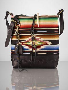 Serape Large Messenger - Ralph Lauren Handbags I want. I can't have.