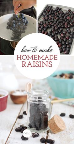 I'm just going to come right out and say it – I think raisins get a bad rap. What's isn't there to like about raisins, I ask you? They're sweet little bits of dried fruit deliciousness. (Sure, it can