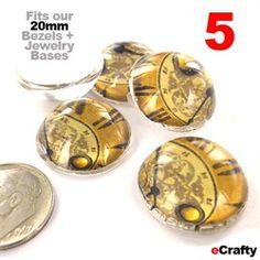 ECRAFTY - Glass Jewelry Domes