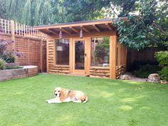 Office in my garden we build outdoor rooms and garden offices portfolio. Garden Studio, Cottage Design, House Design, Garden Office, North London, Portfolio, Outdoor Rooms, Amazing Destinations, Backyard