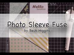 Creations with Christina: Photo Sleeve Fuse Tool