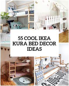 The IKEA Kura bed is a great loft bed and is recommended for ages 6 and up. The IKEA Kura bed is a great loft bed and is recommended for ages 6 and up. Lamelle …, The IKEA K Kura Cama Ikea, Mydal Ikea, Ikea Kura Hack, Kura Bed, Ikea Loft Bed Hack, Ikea Hacks, Ikea Bedroom, Home Decor Bedroom, Childs Bedroom