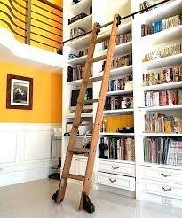 Resultado de imagen para bookshelves with library ladder