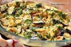 Baklažánová delikatesa (fotorecept) Russian Recipes, Potato Salad, Potatoes, Cooking Recipes, Vegetables, Ethnic Recipes, Food, Polish, Vitreous Enamel