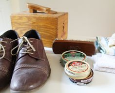 Captain Dapper: Dapper Duties: How to Shine Your Shoes