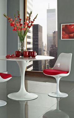 Modway Lippa Dining Side Chair Set of 2 in Red Contemporary Chairs, Modern Dining Chairs, Dining Room Chairs, Dining Room Furniture, Side Chairs, Modern Furniture, Dining Tables, Dining Rooms, Contemporary Design
