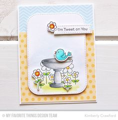 For the Love of Paper: Tweet On You: MFT Stamps April Release Countdown