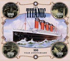 Grenada 100th Anniversary OF Titanic 4 Stamp Sheet GRA1203H | eBay