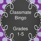 This is a great way to introduce classmates to each other at the beginning of the school year!  This FREE activity includes a bingo board for both primary and elementary grades.  Price is $0.00!  Visit our TpT store at www.teacherspayte... for other awesome resources!