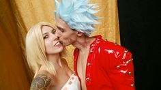 Ban and Elaine seven deadly sins cosplay