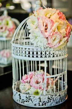 wanting bird cages for some center pieces.