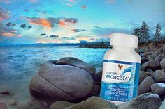 Nahrungsergänzungsmittel mit Fisch-, Calamari- und Olivenöl. Reich an Omega-3-Fettsäuren. Für Herz – Gehirn – Cholesterinspiegel.  Das optimale Anti-Aging-Produkt: Mehrfach ungesättigte Fettsäuren werden vom Körper nicht selbst aufgebaut – müssen also zugeführt werden. Für Forever Arctic Sea® werden nur hochgereinigte essentielle Omega-3-Fettsäuren aus Hochseefischen sowie Calamari verwendet. Zusätzlich versetzt mit Zitronen- und Limettenöl für eine frische Note und beste Verdaulichkeit. Forever Aloe, Forever Living Aloe Vera, Calamari, Aloe Heat Lotion, Omega 3, Anti Aging, Forever Living Products, Fett, Arctic