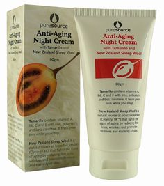 Sheepwool Night Cream with Tamarillo- Pure Source - 80g | Shop New Zealand