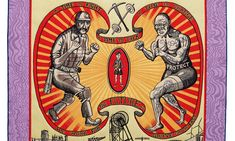 Detail of Grayson Perry's tapestry, Death of a Working Hero (Image: © the artist. Courtesy the Artist, Paragon Press and Victoria Miro, London) Grayson Perry Tapestry, Liberty Leading The People, Court Jester, Guernica, Art Thou, Popular Art, Contemporary Photography, The Guardian, Artists