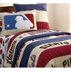 baseball comforter sets | ... Bedding, Baseball Bedding Sets For Boys, Boys Sports Bedding Sets