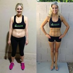Ashley's amazing transformation! Isagenix Fitness! http://DarceeDorrans.isagenix.com