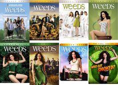 WEEDS: Seasons 1-8 Complete Series (DVD)