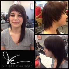 It's always so fun to create a drastic new look on our clients…and this one is one of our faves. Her edgy new style captures her personality perfectly! New Look, That Look, Salons, Personality, Change, Create, Fun, Style, Fin Fun