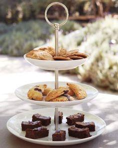 Chocolate chip cookies, huckleberry mini hand pies, and homemade sea salt brownies