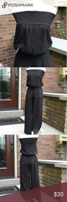 VS Cover-up  NWOT Semi sheer bathing suit cover up Pants Victorias Secret Swim Coverups