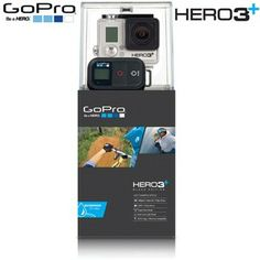 New GoPro HD Hero3+ Black Edition Hero 3 PLUS CHDHX-302 12MP Camcorder-Camera #FOLLOWITFINDIT