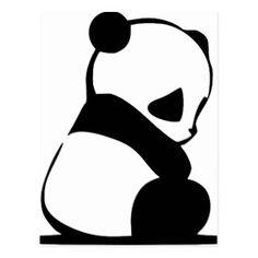 Panda triste / boude