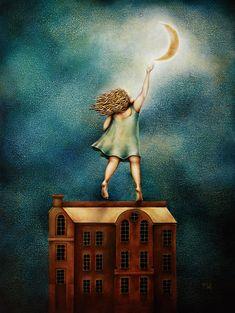 MOONTOUCH by Nick Fedaeff Lasso The Moon, Moon Dance, Vintage Moon, Sun Moon Stars, Luna Moon, Paper Moon, Good Night Moon, Over The Moon, Celestial