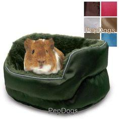 Super Pet Plush Cuddle-E-Cup Ferret Pet Rat Guinea Pig Chinchilla Sleeper Bed  #SuperPetKaytee