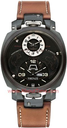 View this Anonimo Watch at About Time Watch Company by Clicking Here http://www.abouttime.com/abouttime/mod-2009-dual-time-drass.invt.html Anonimo Firenze Dual Time Drass Watch Model #mod-2009-dual-time-drass