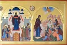 Fresco, Princess Zelda, Faith, Pictures, Painting, Fictional Characters, Father, Byzantine Icons, Triptych
