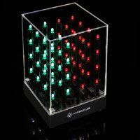 Techno-N-Toys: New Tech: Hypnocube Animated LED Cube    This cube comprises of flashing LED lights inside – all 64 of them, showing off a light show that will certainly mesmerize.