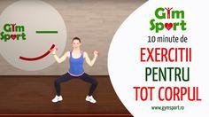 Exercitii de tonifiere pentru tot corpul - VIDEO