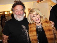 Robin Williams and Joan Rivers #rip