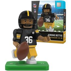 Jerome Bettis Pittsburgh Steelers OYO Sports Legends Minifigure