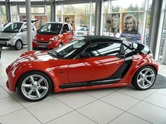 Smart Roadster Coupe Red