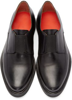 Paul Smith Black Creeper Loafers