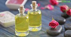 Wozu teure Naturkosmetik-Massageöle kaufen, wenn man sie ganz einfach selbst mischen kann? Basisrezept mit natürlichen Pflanzenölen und Aromen.
