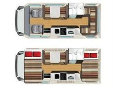 Van Conversion Floor Layouts