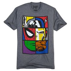 Marvel Universe Tee for Men | Tees, Tops & Shirts | Disney Store