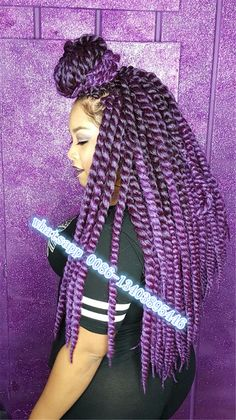 "HAVANA MMABO twist braids, 22""ombre havana braiding hair Synthetic Crochet…"