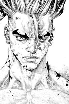 Read manga Sun-Ken Rock Sun-ken Rock 158 - Vol 021 online in high quality Boichi Manga, Manga Comics, Human Drawing, Manga Drawing, Sun Ken Rock, Character Art, Character Design, Wie Zeichnet Man Manga, Pinterest Instagram