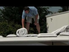 How to install your RV cover