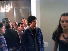 The Jonathan Adler Chandelier As Seen In The Movie Stuck In Love! #lighting #chandelier #robertabbey #interiorhomescapes #interiorhomescapes.com #interior homescapes #interiors #stuckinlove Jonathan Adler Rectangular Chandelier | Robert Abbey