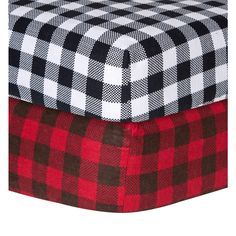 Trend Lab Checkered Flannel Crib Sheet | Overstock™ Shopping - Big Discounts on Trend Lab Baby Bed Sheets