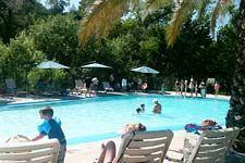 Pool at Morton's Warm Springs Resort in Glen Ellen