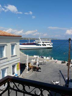 view from the balcony -Alexandris Hotel, Spetses Island